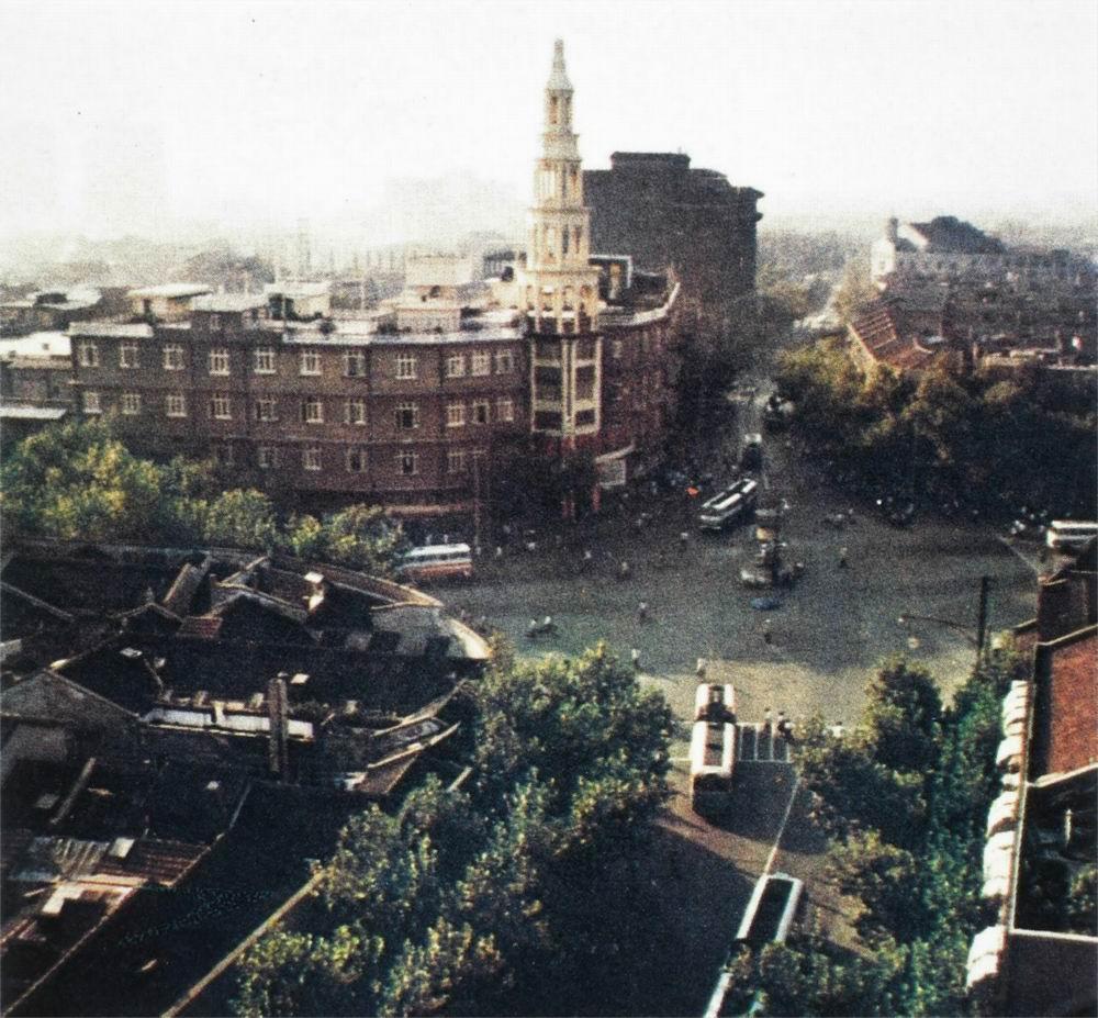 旧景拼盆-大世界十字路口四只角
